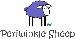 Periwinkle Sheep